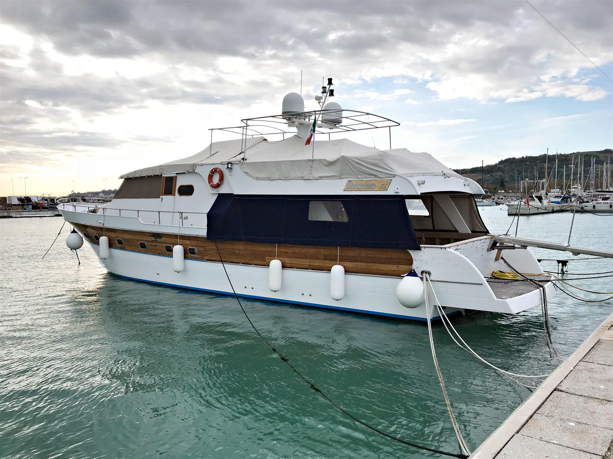 Cantiere Navale Azzurro Navetta Azzurro 74